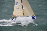 Class 40 Concise in the Sevenstar Round Britain and Ireland Race. Photo: RORC/ Rick Tomlinson.