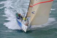 Volvo Open 70, Teléfonica Azul during the Sevenstar Round Britain and Ireland Race. Photo: RORC/Rick Tomlinson