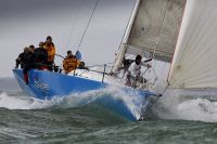 Piet Vroon's Ker 46, Tonnerre de Breskens leads on handicap on Day Two of the Sevenstar Round Britain and Ireland Race. Photo: RORC/Paul Wyeth