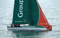 Groupama VO70 - photo by Yvan Zedda