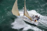 Class 40 Concise at the start of the Sevenstar Round Britain & Ireland Race - photo RORC/Rick Tomlinson