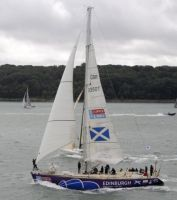 Edinburgh Inspiring Capital at the start of the Sevenstar Round Britian and Ireland Race - photo RORC/Rick Tomlinson