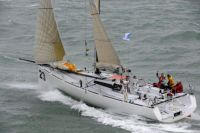Phesheya-Racing at the start of the Sevenstar Round Britain and Ireland Race - photo RORC/Rick Tomlinson