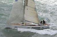 John B at the start of the Sevenstar Round Britian and Ireland Race - photo RORC/Rick Tomlinson